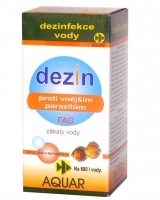 Aquar Dezin FAG 30 ml (proti zákalům vody a k potlačení prvoků)