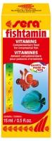 Sera fishtamin 15ml (vitaminy pro akvarijní ryby)