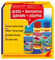 """Sera set """"čistá voda"""" 3x100 ml (úprava vodovodní vody)"""